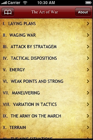 Art Of War By Sun Tzu screenshot-1