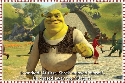 Shrek Forever After- Kids' Book HD screenshot-3