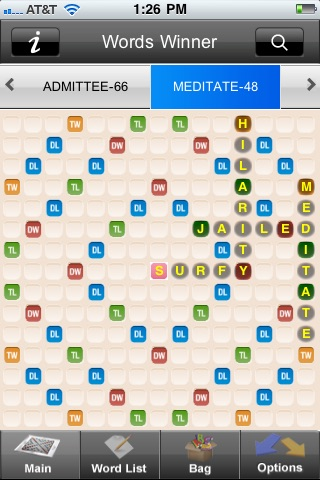 Words Winner Free - the best cheat app for Scrabble® and Words with Friends