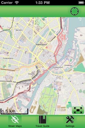 Copenhagen Offline Street Map on the App Store