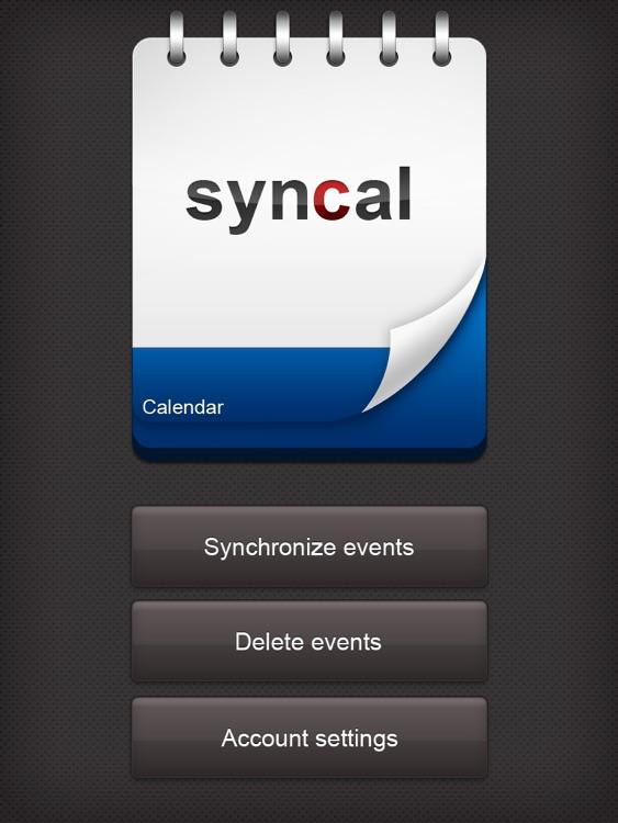 Syncal HD Free (Google Calendar ™ Sync)