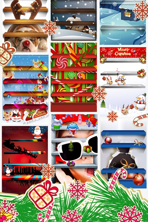Best HD Xmas Wallpapers for iOS5 screenshot-3