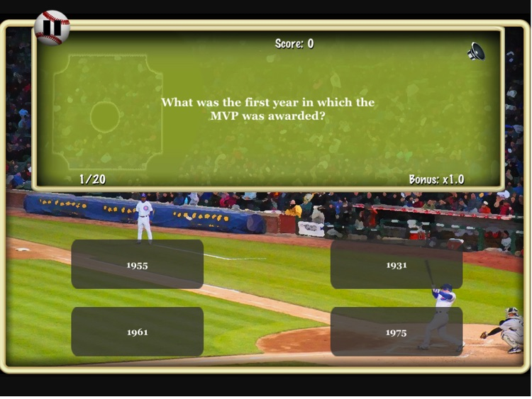 Big Baseball Trivia HD Lite screenshot-1