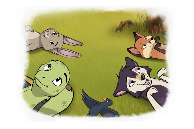 Tortoise and Hare: an Animated Aesop Children's Story Book HD screenshot-4