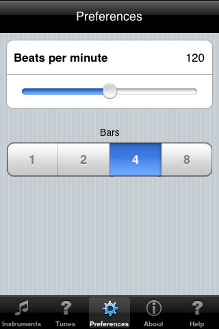 Screenshots of Tunemaker Free Tryout for iPhone