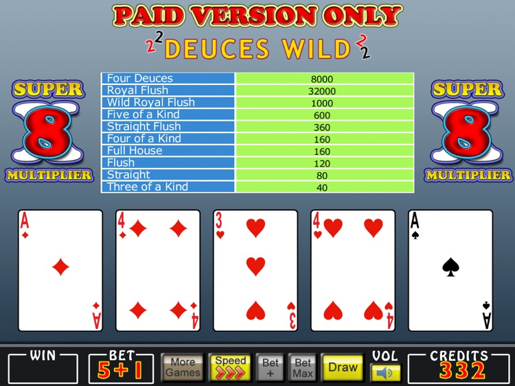 Mojo Video Poker HD