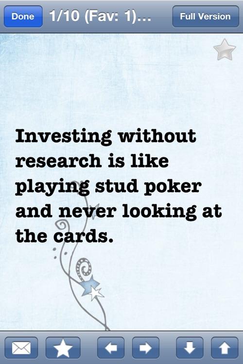 Investment Wisdom of Peter Lynch (Lite version)