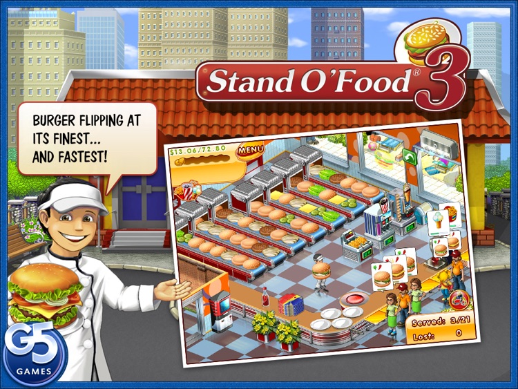 Stand O'Food® 3 HD screenshot-0