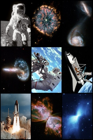 Free Space Images Gallery - Galaxies, Solar Sytem, Nebulae and Mission