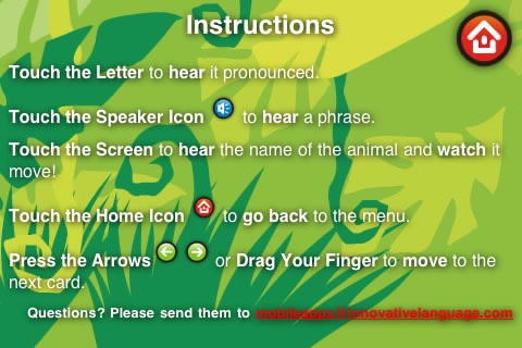 Alphabet Animals - Talking ABC Cards for Kids screenshot-4