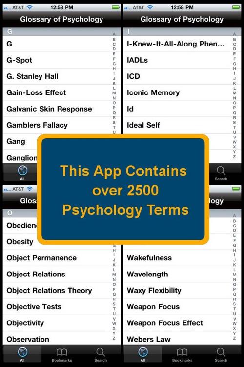 Glossary of Psychology screenshot-3