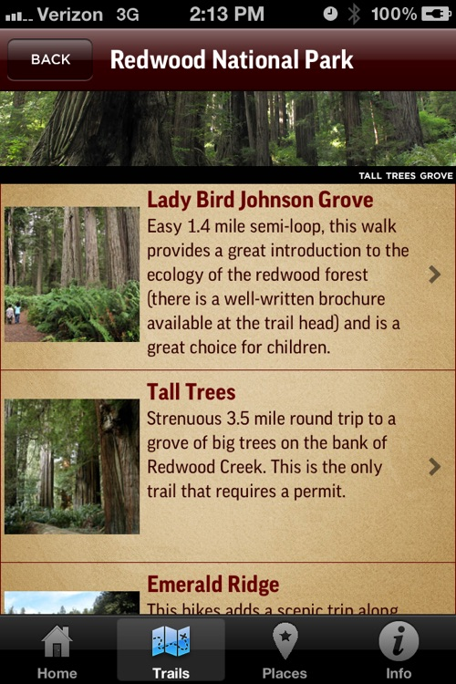 Redwood Park App screenshot-2