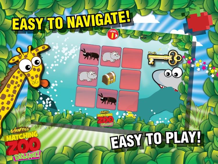 Giraffe's Matching Zoo Deluxe for iPad