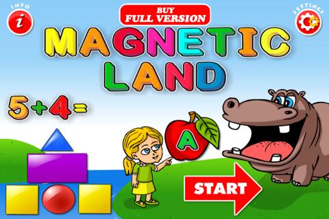 ABC Magnetic Land FREE (Alphabet, Animals...) screenshot 1