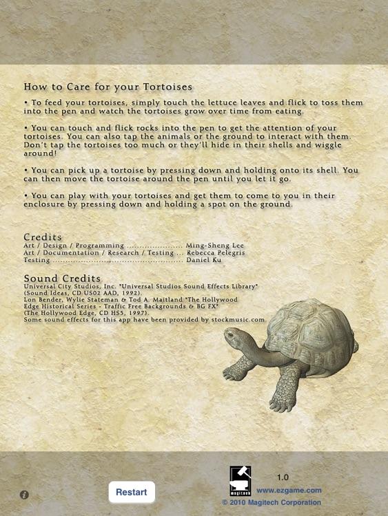Pet Tortoise screenshot-4