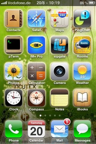 Incutex Homescreen Wallpapers screenshot-3