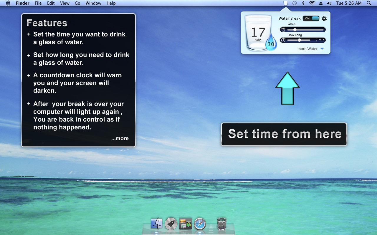 ‎Water Break on the Mac App Store