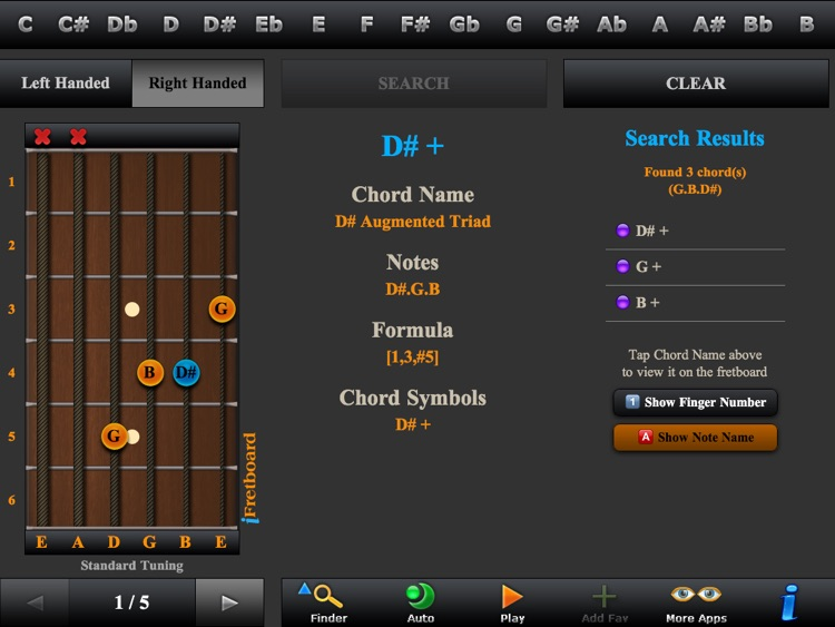 Guitar Scales, Arpeggios & Chord Finder screenshot-3