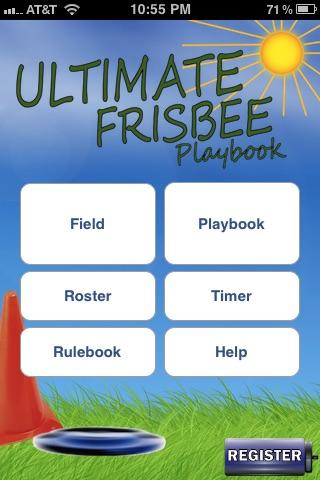 Ultimate Frisbee Playbook