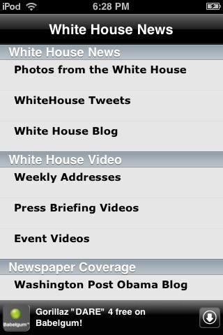 Obama Administration - White House News screenshot-3