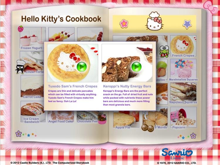 Hello Kitty Interactive Cookbook screenshot-3