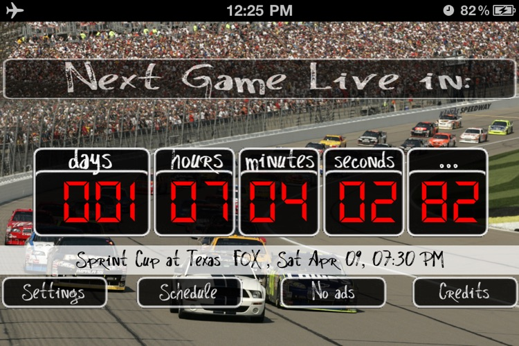 Next Game Live for NASCAR screenshot-0