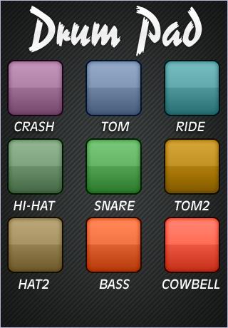 Drum Pad (FREE) screenshot one
