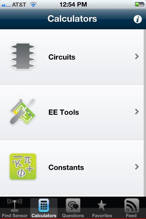 Sensor & Electrical Toolkit screenshot-4