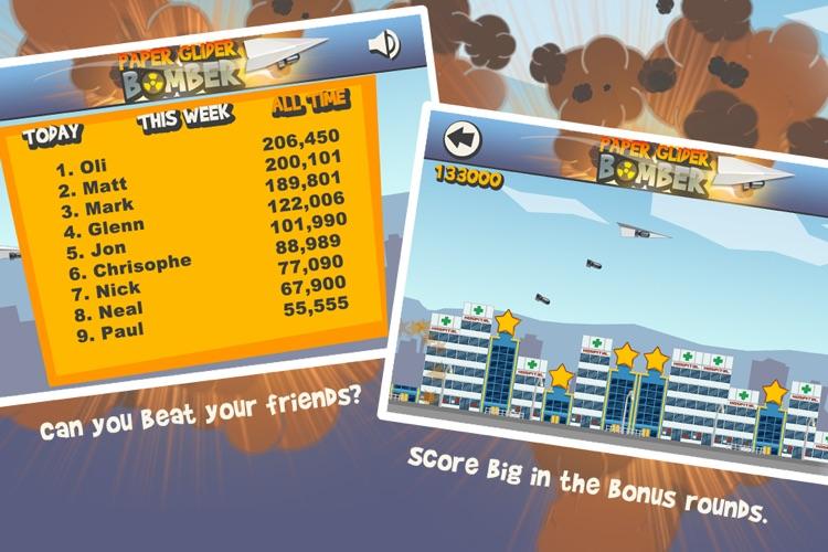 Paper Glider Bomber screenshot-4