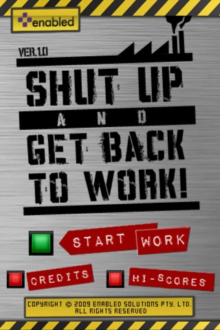 messages.download SHUT UP AND GET BACK TO WORK! software