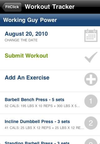 FitClick Diet & Workout Tracker screenshot-4