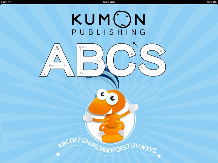 Kumon Uppercase ABC's - Learn to Trace Letters