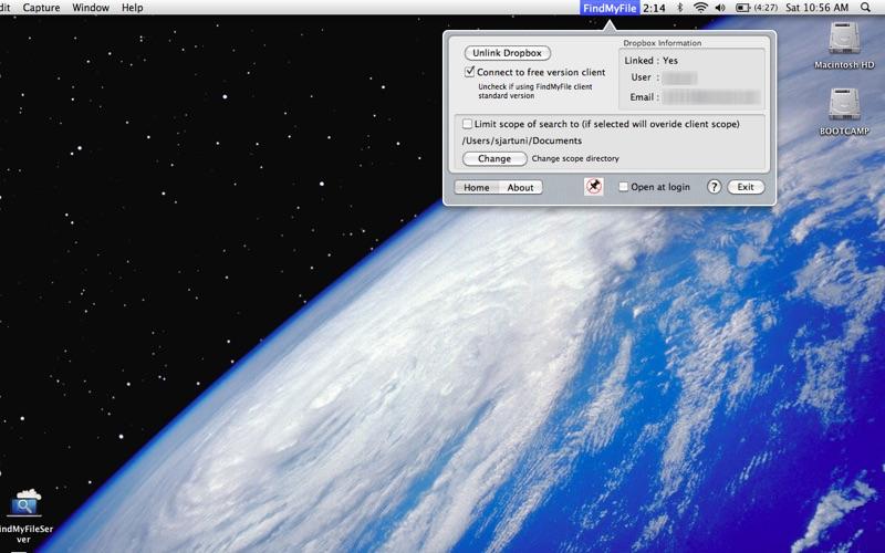FindMyFileServer Screenshot