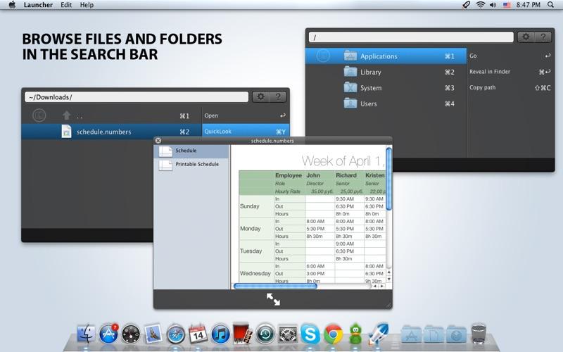 Launcher Screenshot
