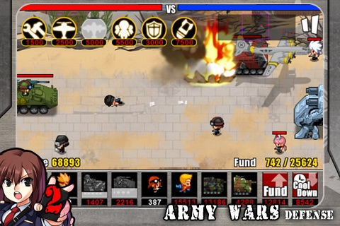 Army Wars Defense 2+ screenshot-4