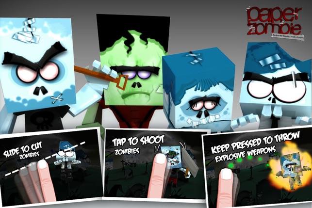 Paper Zombie Screenshot
