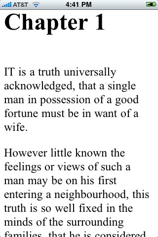 Pride and Prejudice (by Jane Austen) screenshot-3