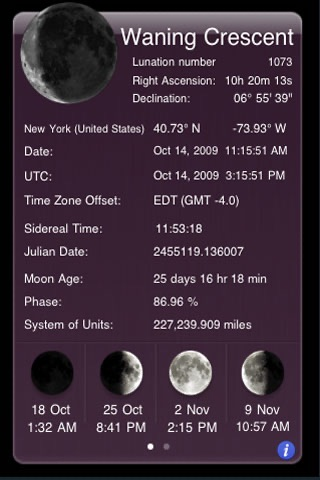 iEphemeris Lite screenshot-0