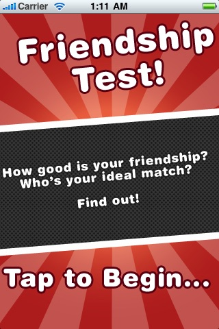 Friendship Test! (FREE)
