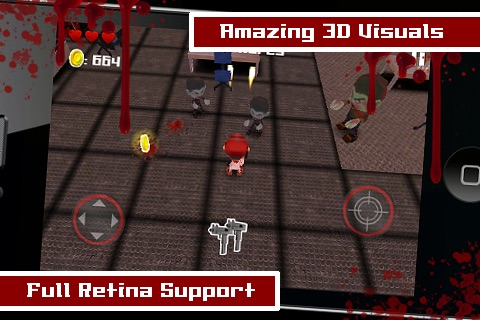 Tsolias Vs Zombies 3D FREE screenshot-3