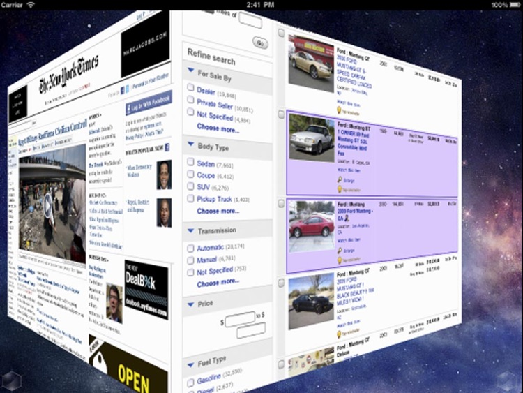 3D Web Browser Pro screenshot-2