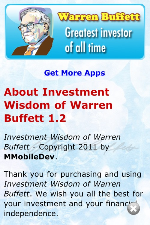 Investment Wisdom of Warren Buffett (Lite version)