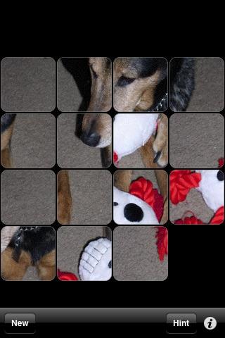 15 Puzzle screenshot one