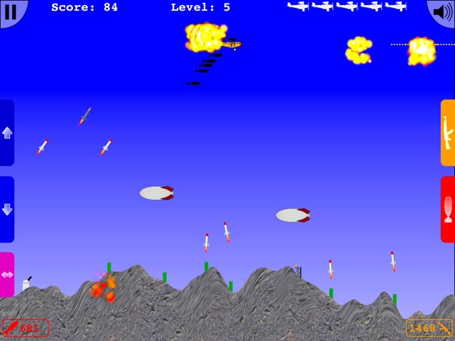 Bomber Zone HD Lite, game for IOS