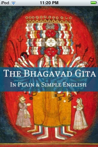 The Bhagavad Gita In Plain and Simple English screenshot-0