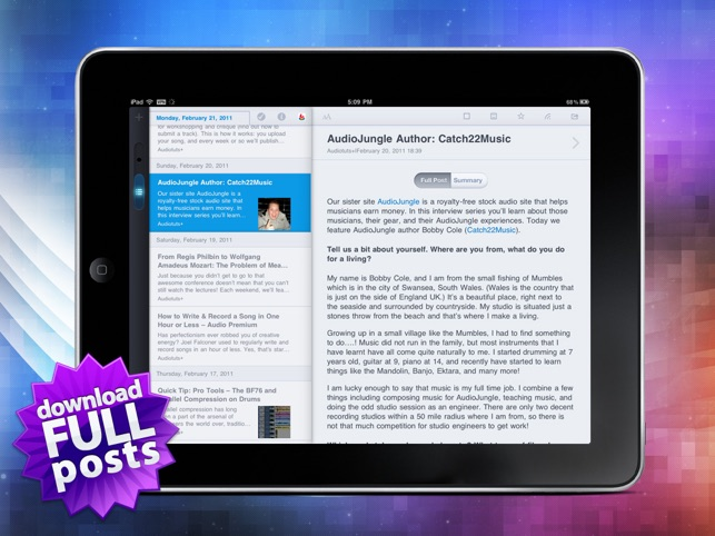MobileRSS HD ~ Google RSS News Reader on the App Store