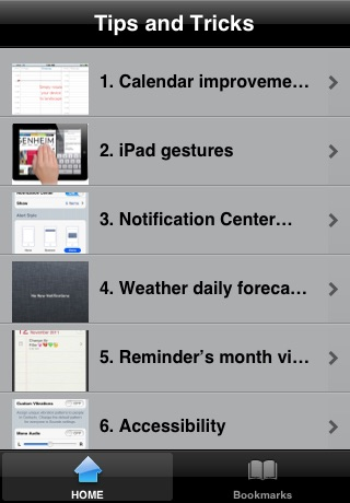 Tips and tricks for iOS 5 FREE screenshot-4