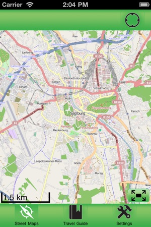 Salzburg City Offline Street Map on the App Store