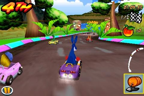 Crash Bandicoot Nitro Kart 3D screenshot-4