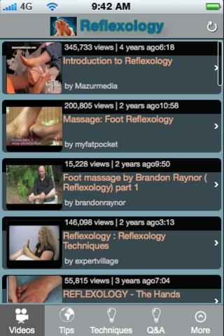 Reflexology.